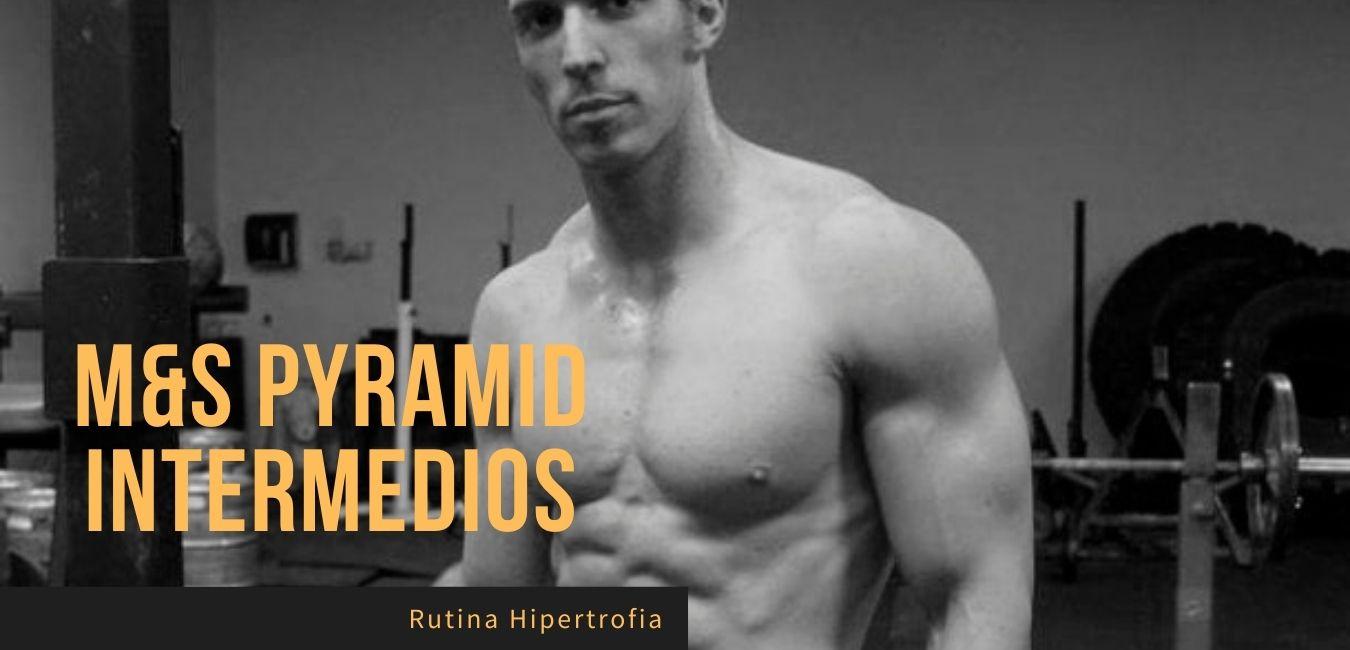 Rutina hipertrofia intermedios Eric Helms