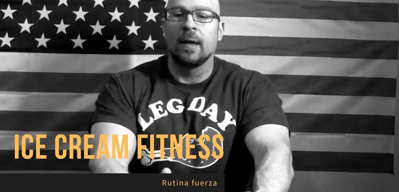 Jason Blaha 5x5 Ice Cream Fitness Rutina