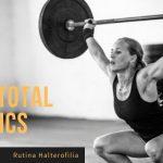 """Rutina halterofilia """"Supertotal Basics"""" de Next Step Strength"""