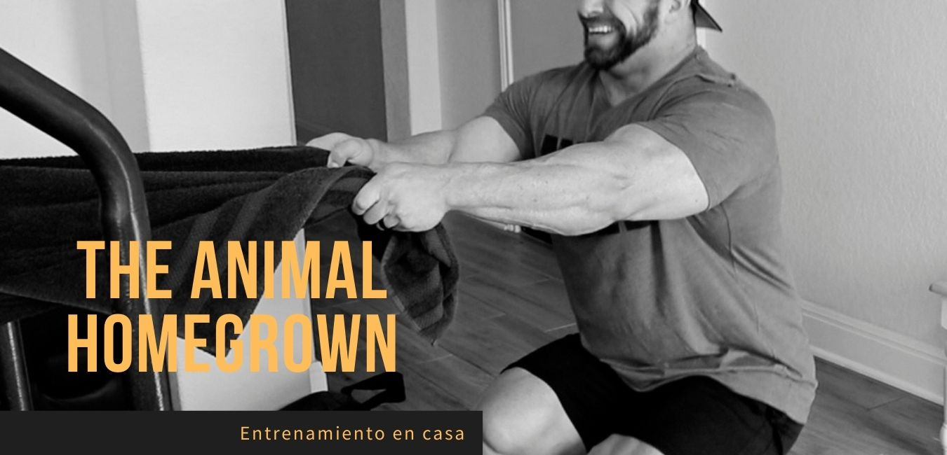 Rutina Entrenamiento en Casa The Animal Homegrown
