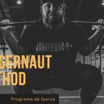 Programa de fuerza The Juggernaut Method