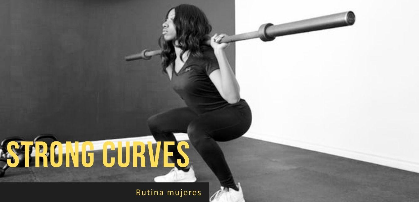 Rutina Gluteos Gym Mujeres