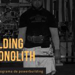 Programa Building The Monolith