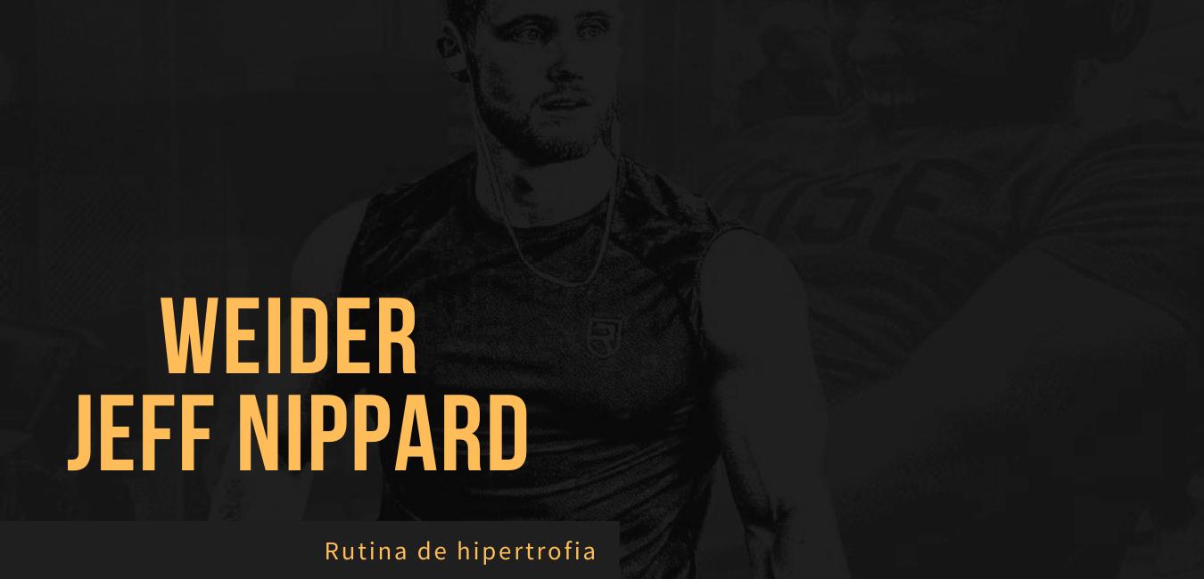 Rutina Weider Jeff Nippard Novatos