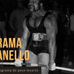 Programa Peso Muerto Vince Anello