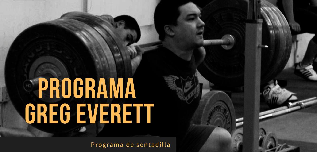 Rutina Olimpica Sentadillas Greg Everett
