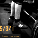 Programa de entrenamiento nSuns 5/3/1