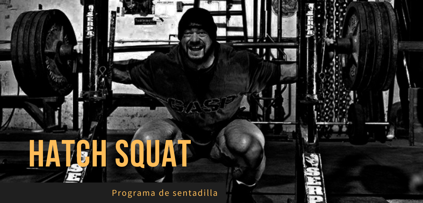 Rutina sentadillas Hatch Squat