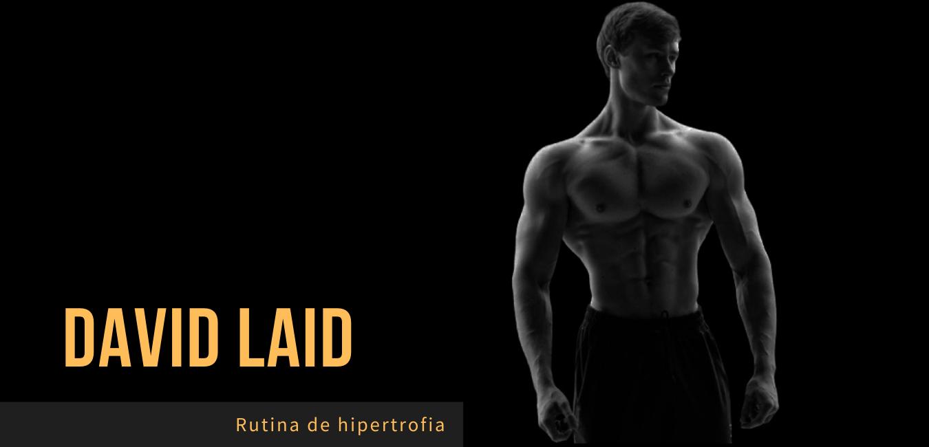 Rutina David Laid Hipertrofia