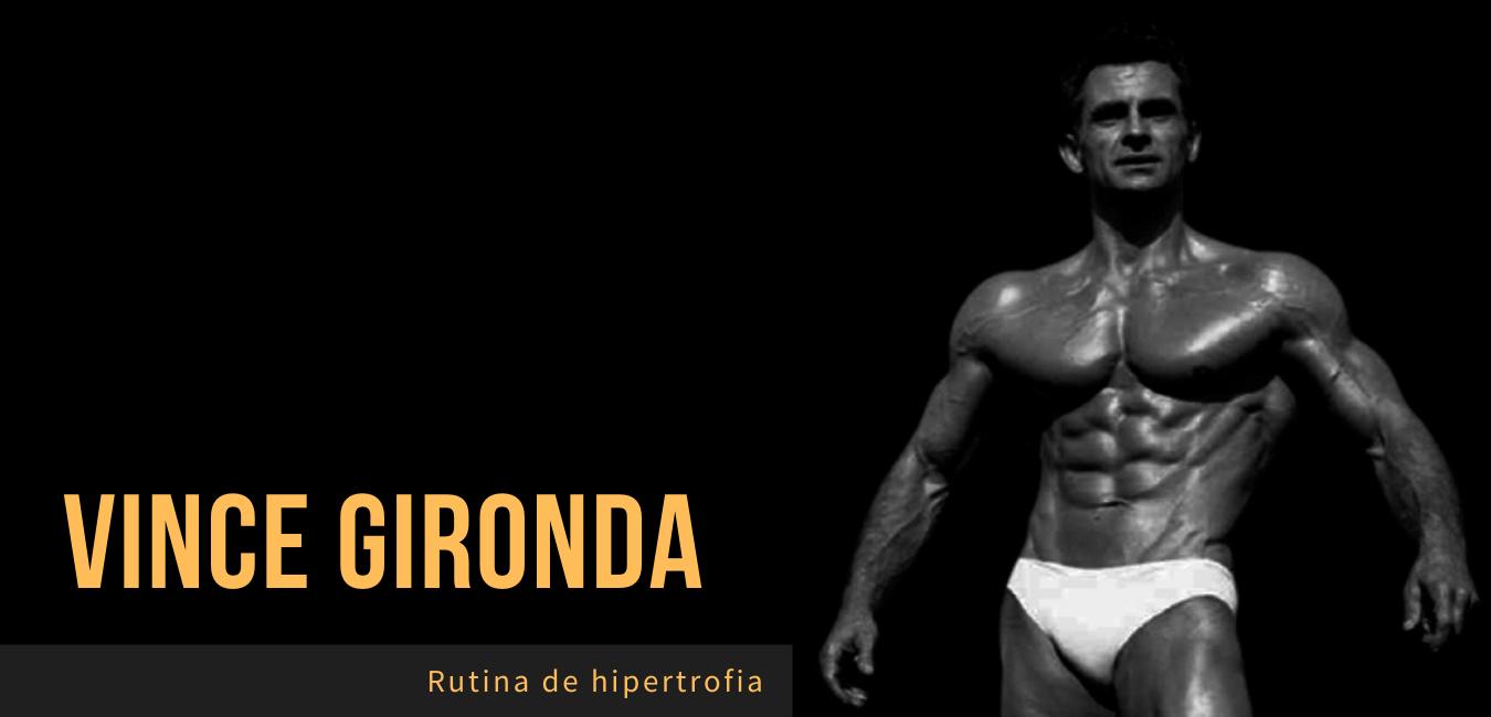 Rutina Vince Gironda Hipertrofia 8x8