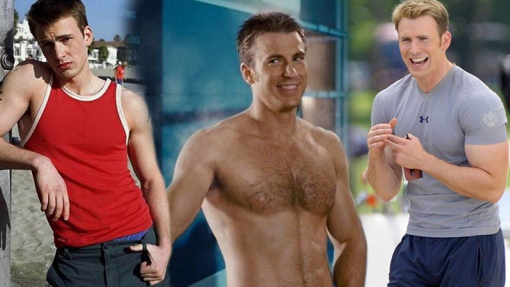 Chris Evans Capitán América Ganancia Masa Muscular Transformacion