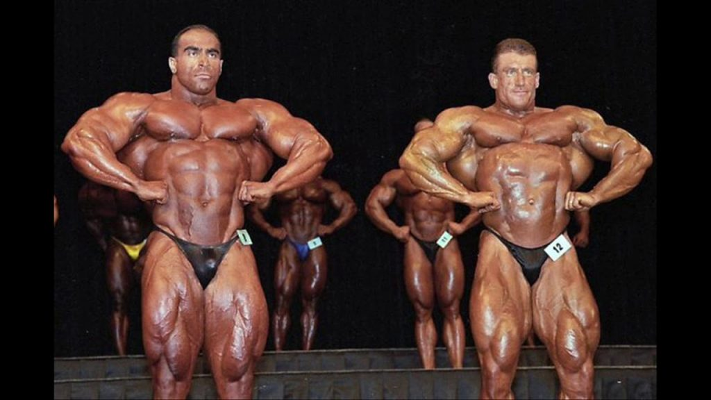Dorian Yates vs Nasser El Sonbaty Mr Olympia 1997